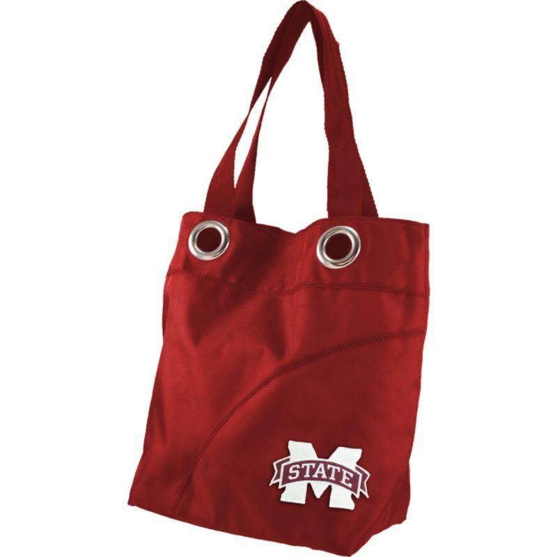 リトルアース メンズ トートバッグ バッグ Color Sheen Tote - SEC Teams Mississippi State University
