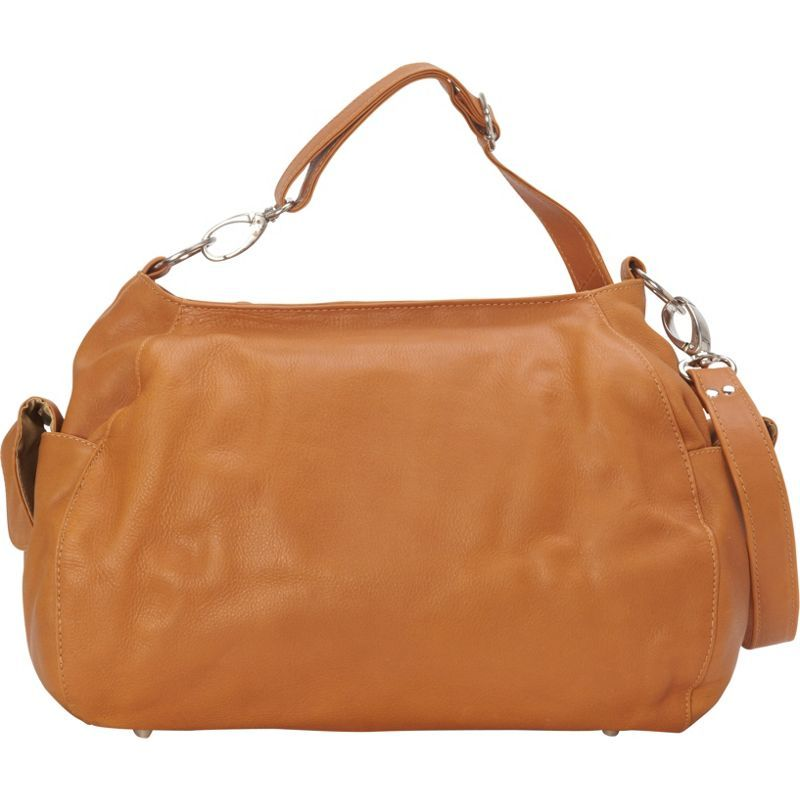 ピエール メンズ ショルダーバッグ バッグ Top-Zip Shoulder Bag/Cross Body Hobo Honey