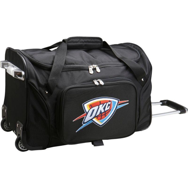 デンコスポーツ メンズ スーツケース バッグ NBA 22 Rolling Duffel Oklahoma City Thunder