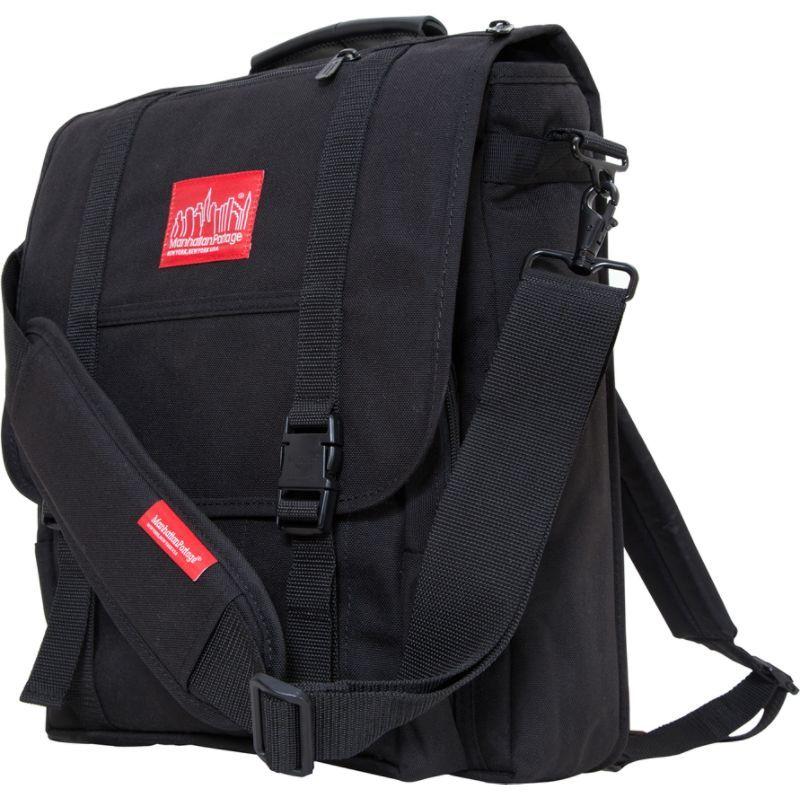マンハッタンポーテージ メンズ ショルダーバッグ バッグ Commuter Laptop Bag Black