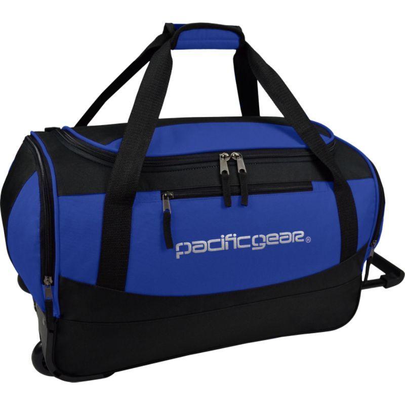 トラベラーズチョイス メンズ スーツケース バッグ Pacific Gear Gala 20 Carry-On Rolling Duffel Bag Blue