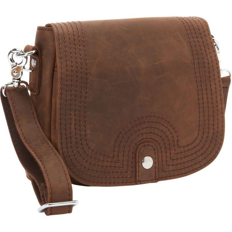 ヴァガボンドトラベラー メンズ ショルダーバッグ バッグ Cowhide Leather Slim Sling Shoulder Bag Distress