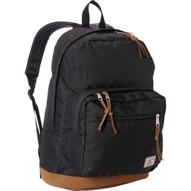 エバーレスト メンズ バックパック・リュックサック バッグ Suede Bottom Daypack with Laptop Pocket Black