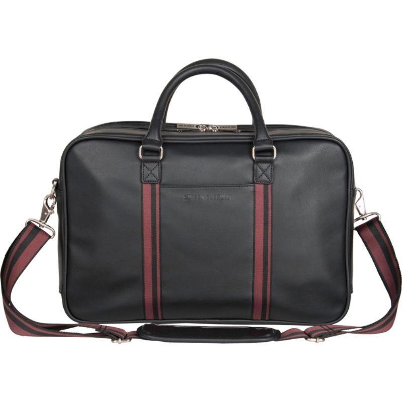 ベンシャーマン メンズ スーツケース バッグ Dual Compartment Professional Top Zip 15.0 Laptop Business Portfolio Black