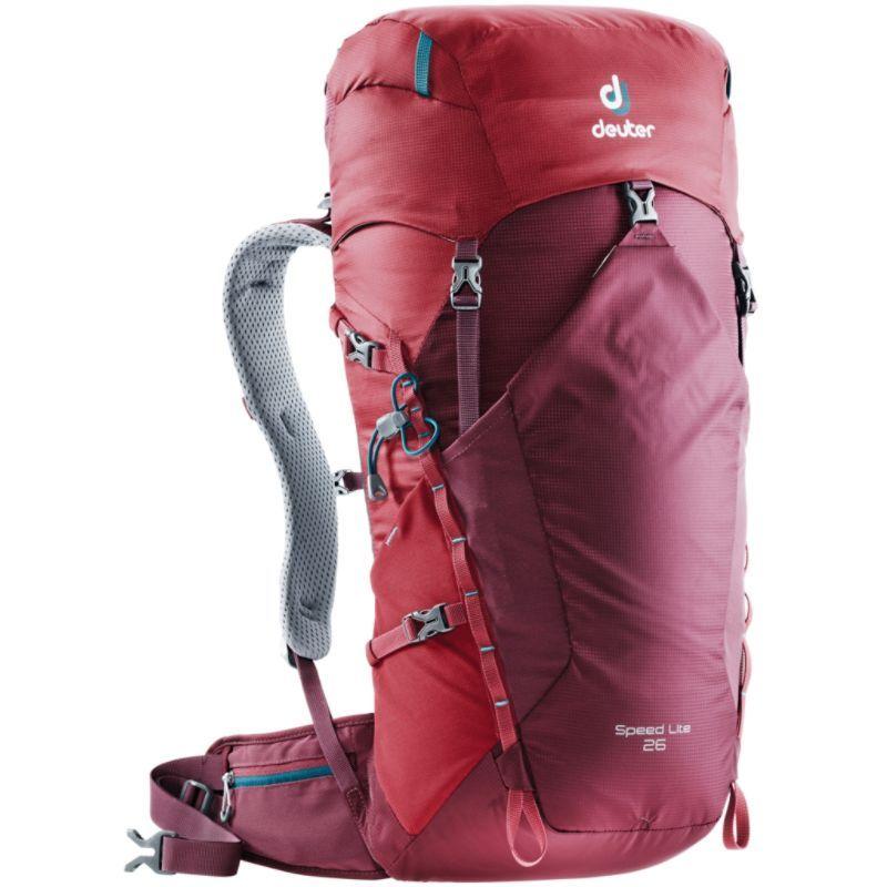 ドイター メンズ バックパック・リュックサック バッグ Speed Lite 26 Hiking Pac Cranberry/Maroon