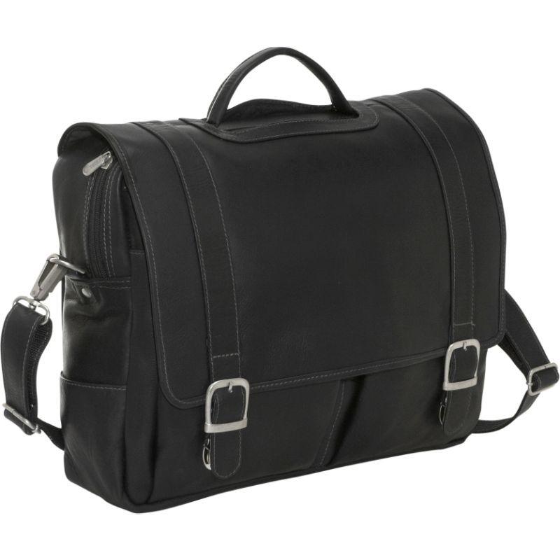 ピエール メンズ スーツケース バッグ Ultimate Organized Portfolio Black