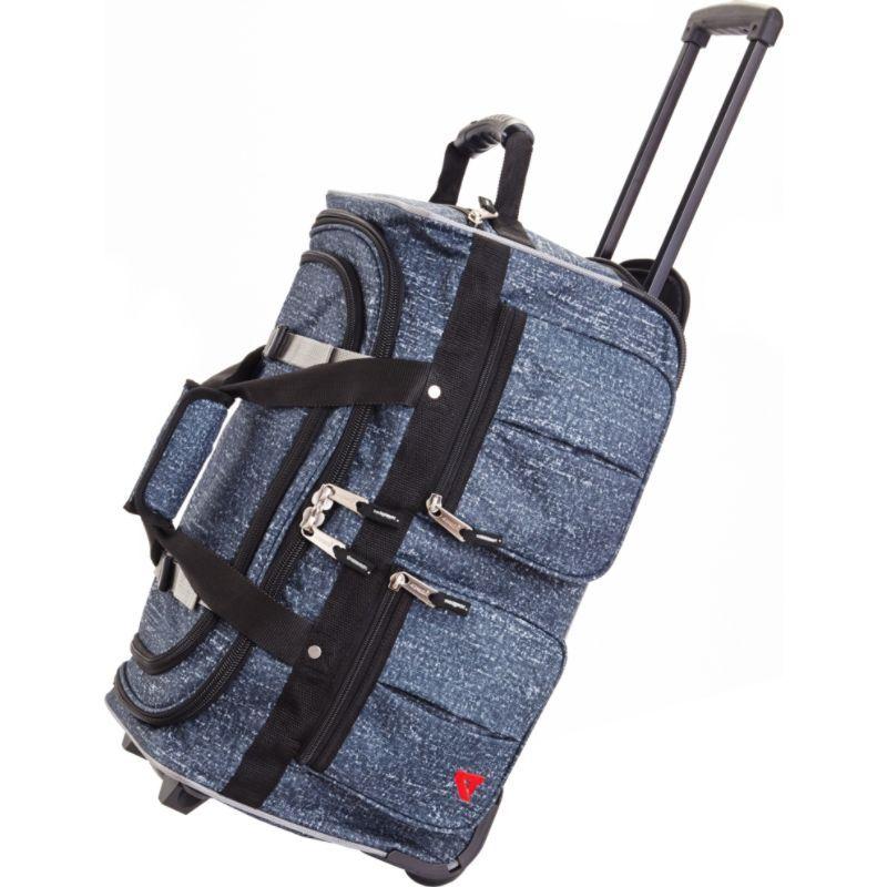 アサロン メンズ スーツケース バッグ 15-Pocket 34Wheeling Duffel Blue Rain