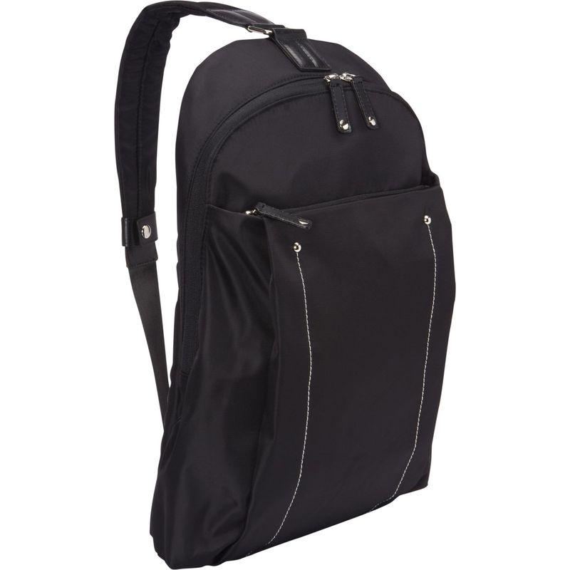 ウーメンインビジネス レディース ショルダーバッグ バッグ Miami City Slim Backpack - 14 Black