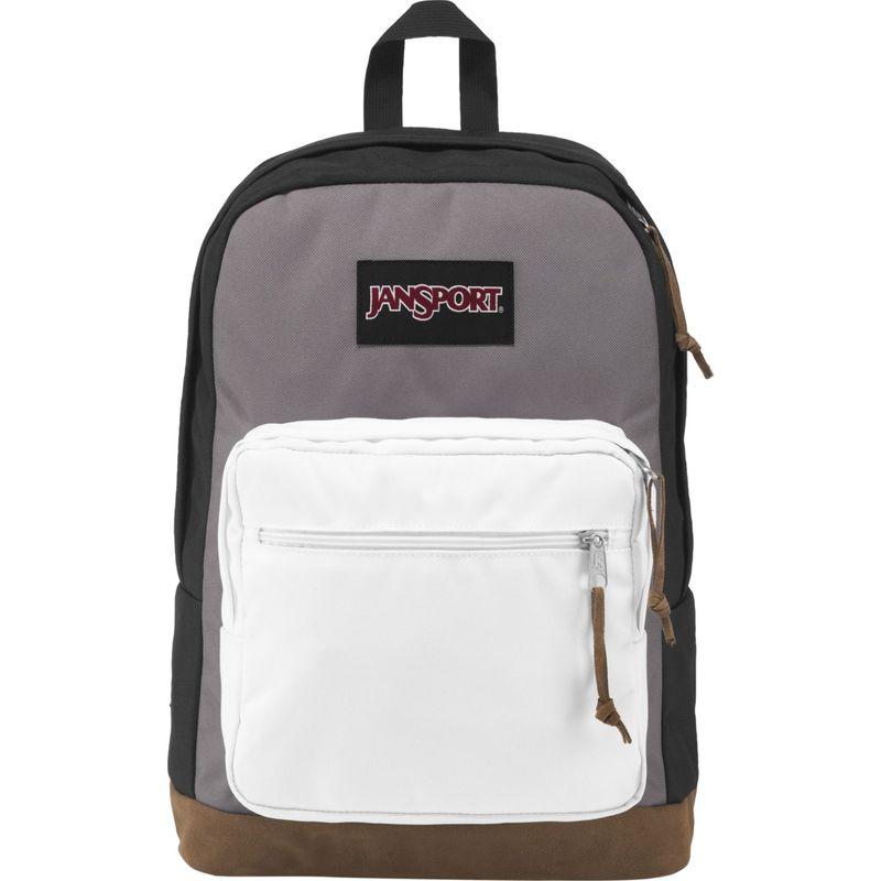 ジャンスポーツ メンズ バックパック・リュックサック バッグ Right Pack Laptop Backpack- Sale Colors Black / Grey Horizon