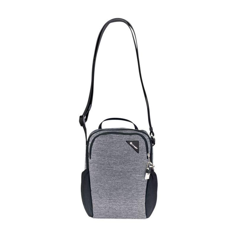 パックセーフ メンズ ボディバッグ・ウエストポーチ バッグ Vibe 200 Anti-Theft Compact Travel Bag Granite Melange