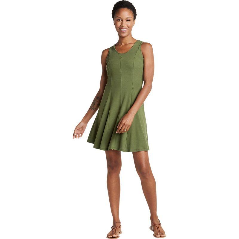 トードアンドコー レディース ワンピース トップス Womens Daisy Rib Sleeveless Dress XS - Thyme