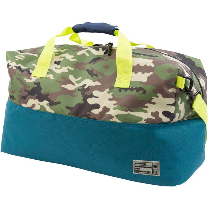 ヘックス メンズ ボストンバッグ バッグ Aspect Duffel Bag Camo/Blue