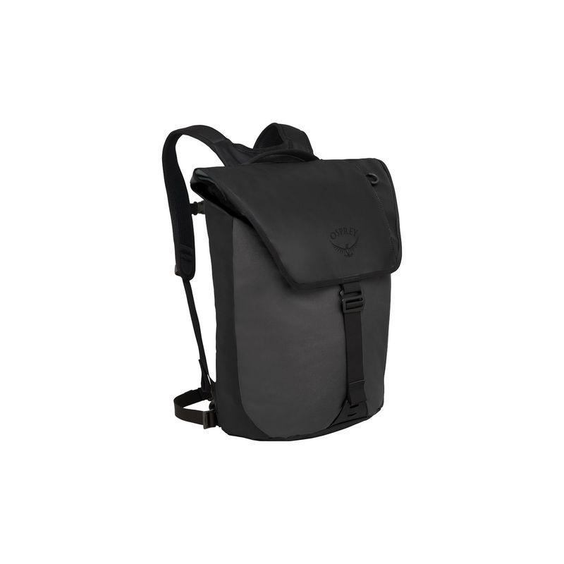 オスプレー メンズ バックパック・リュックサック バッグ Transporter Flap Pack Black
