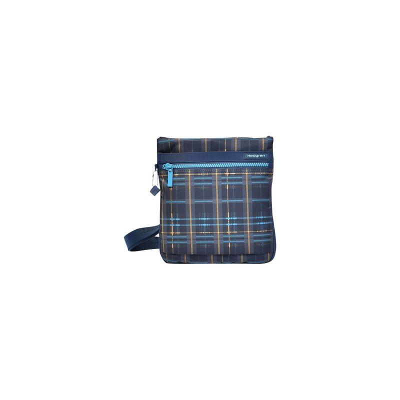 ヘドグレン メンズ ボディバッグ・ウエストポーチ バッグ Leonce RFID Shoulder Bag Tartan Print