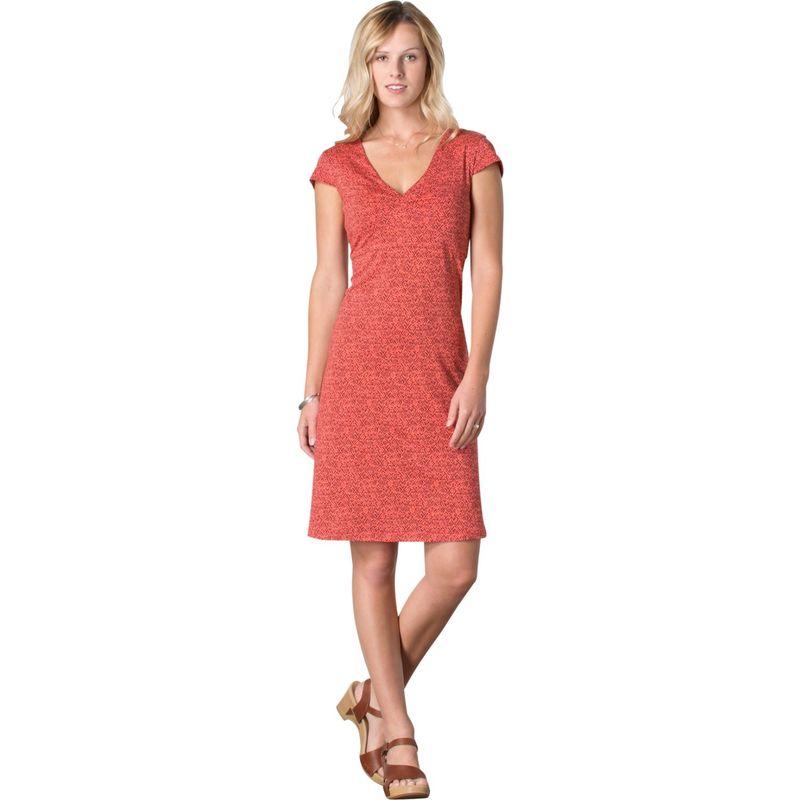 トードアンドコー レディース ワンピース トップス Rosemarie Dress XL - Spiced Coral Geo Print