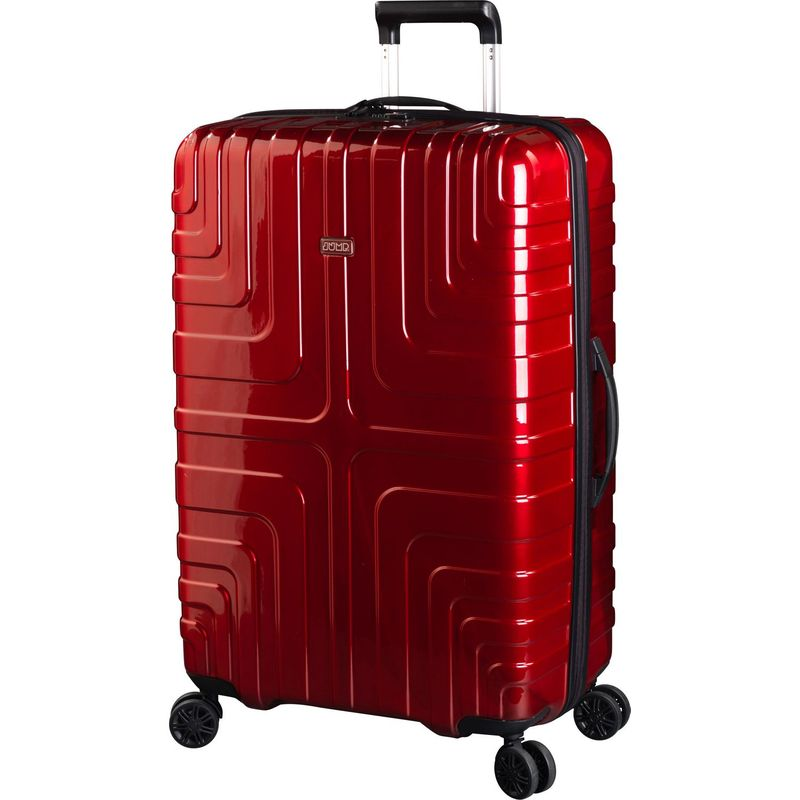 ジャンプ メンズ スーツケース バッグ Crossline Expandable Large Spinner Packing Case Red