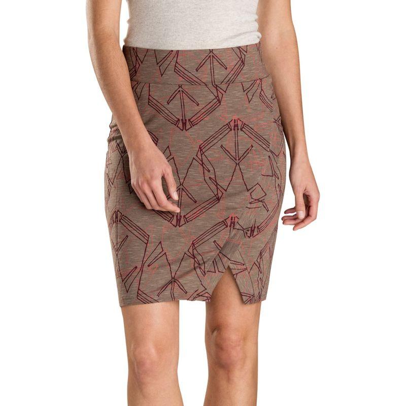 トードアンドコー レディース スカート ボトムス Womens Moxie Skirt XS - Falcon Brown Yard Sale Print