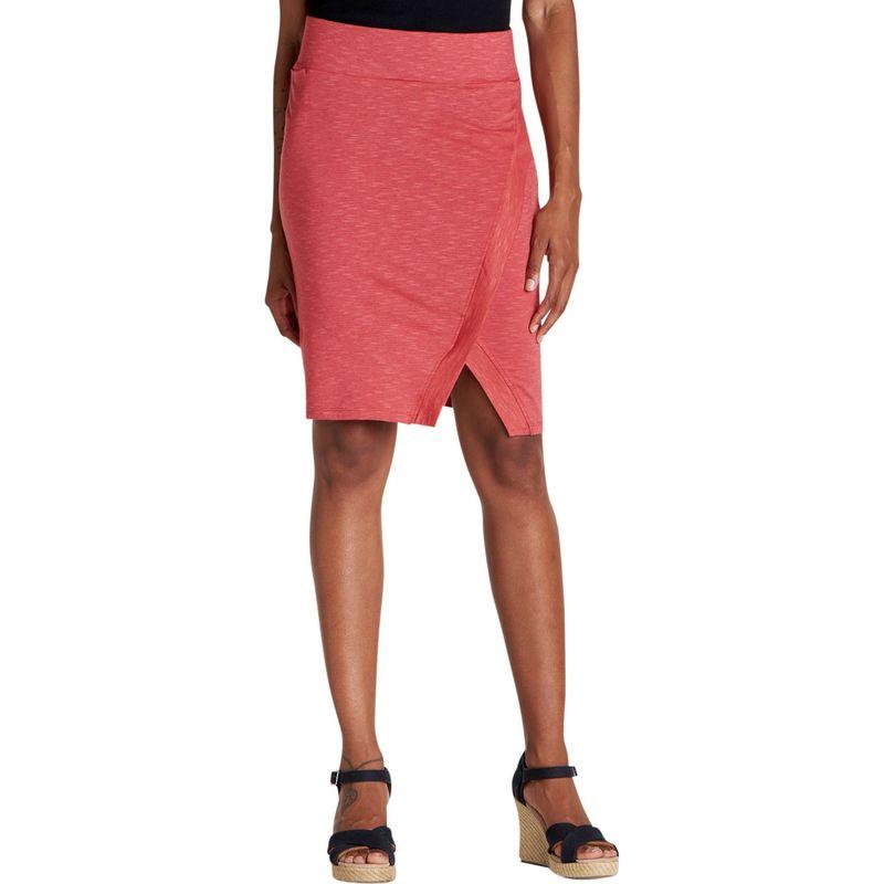 トードアンドコー レディース スカート ボトムス Womens Moxie Skirt XS - Rhubarb