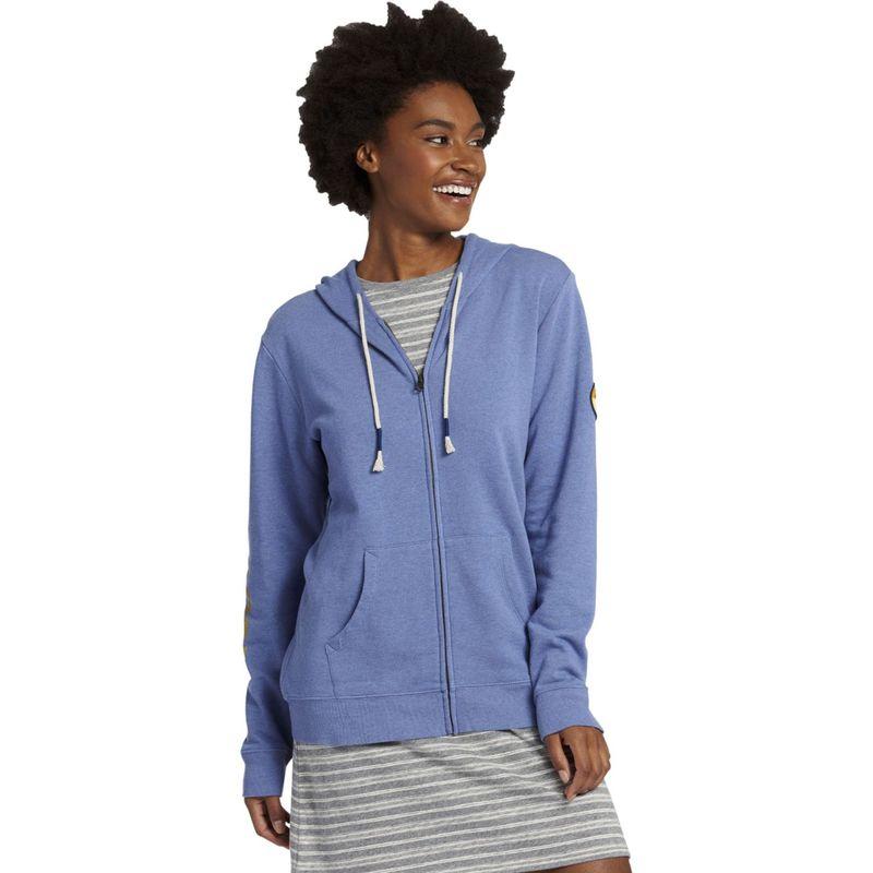 ライフイズグッド レディース シャツ トップス Women's Simply True Zip Up Hoodie XS - Vintage Blue