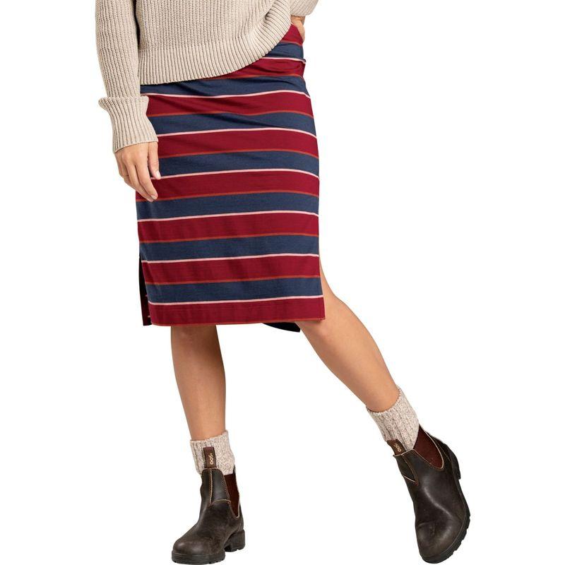トードアンドコー レディース スカート ボトムス Womens Samba Paseo Midi Skirt XS - Port Multi Stripe