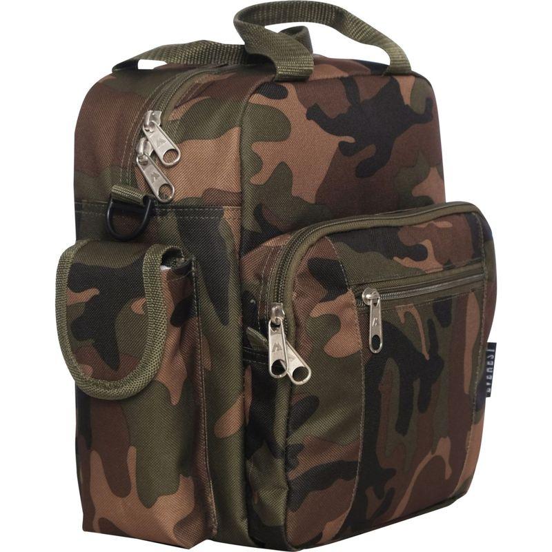 エバーレスト メンズ ショルダーバッグ バッグ Deluxe Utility Bag Woodland Camo