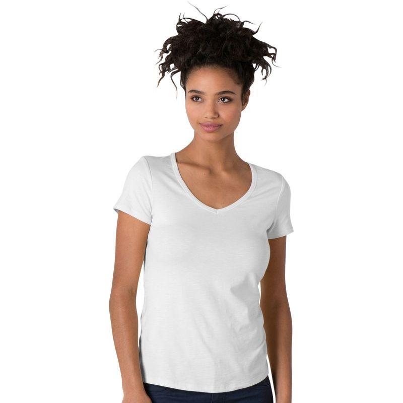 トードアンドコー レディース シャツ トップス Marley Short Sleeve Tee S - White