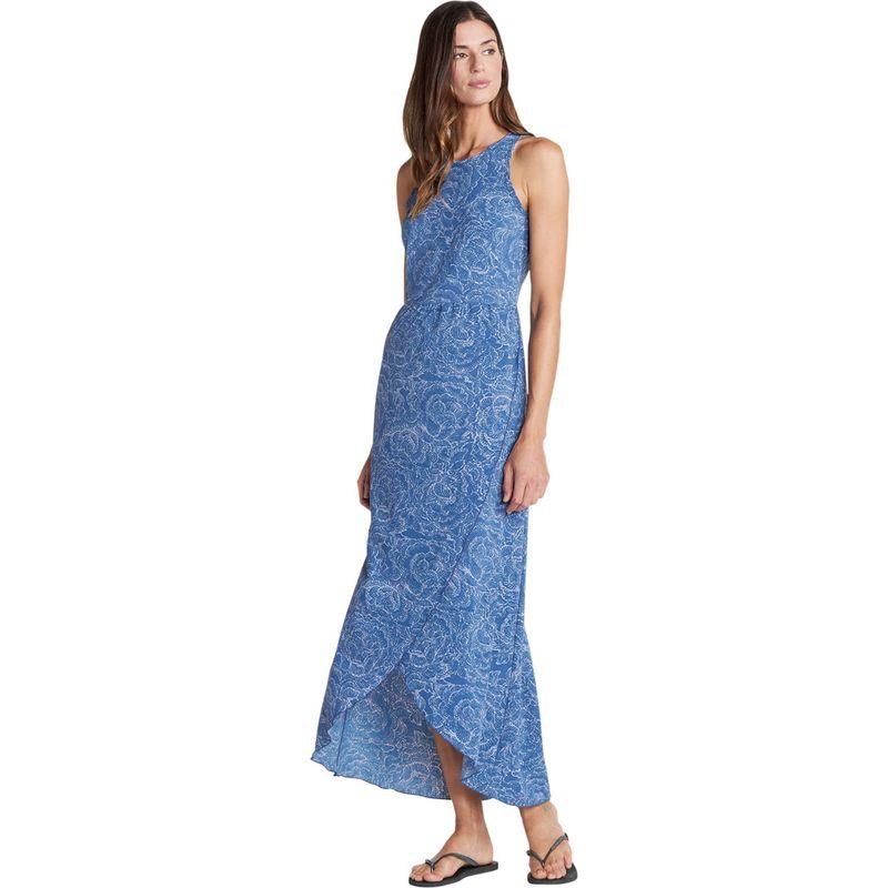 トードアンドコー レディース ワンピース トップス Sunkissed Maxi Dress S - Blueberry Batik Floral Print