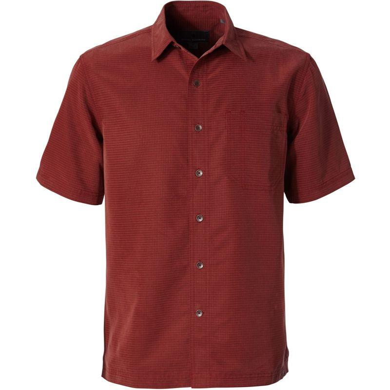 ロイヤルロビンズ メンズ シャツ トップス Mens Desert Pucker Dry Short Sleeve Shirt S - Cedar