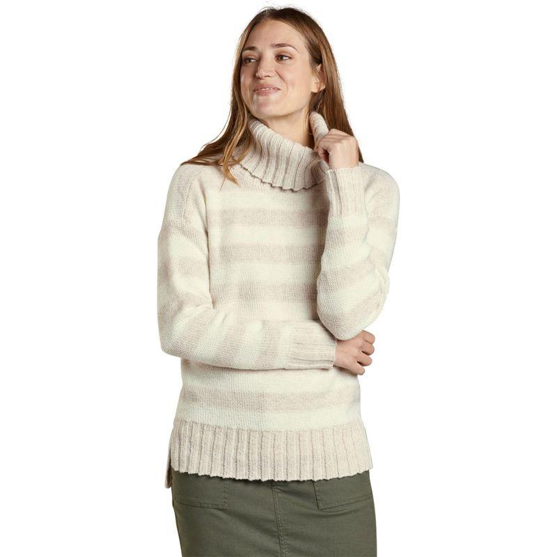 トードアンドコー レディース ニット・セーター アウター Womens Audrey T-Neck XS - Egret Stripe