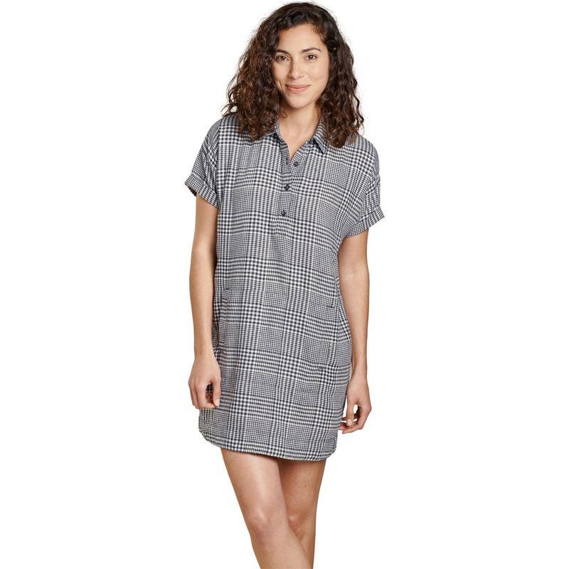トードアンドコー レディース ワンピース トップス Womens Hartland Short Sleeve Dress XS - True Navy