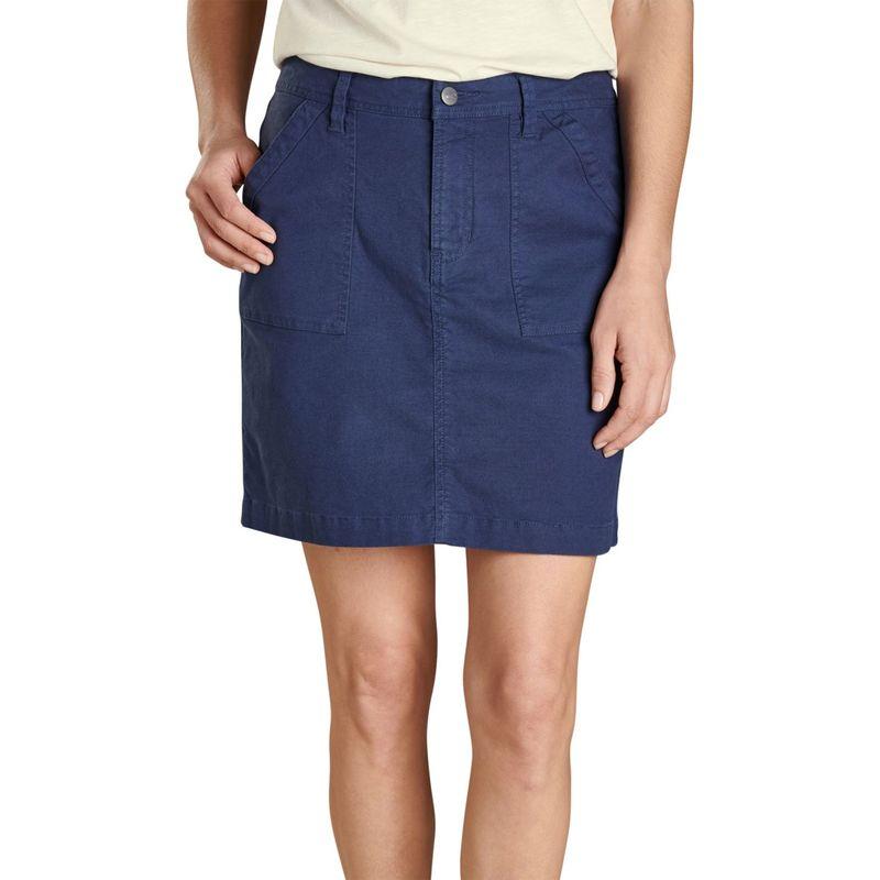トードアンドコー レディース スカート ボトムス Womens Earthworks Skirt 0 - True Navy