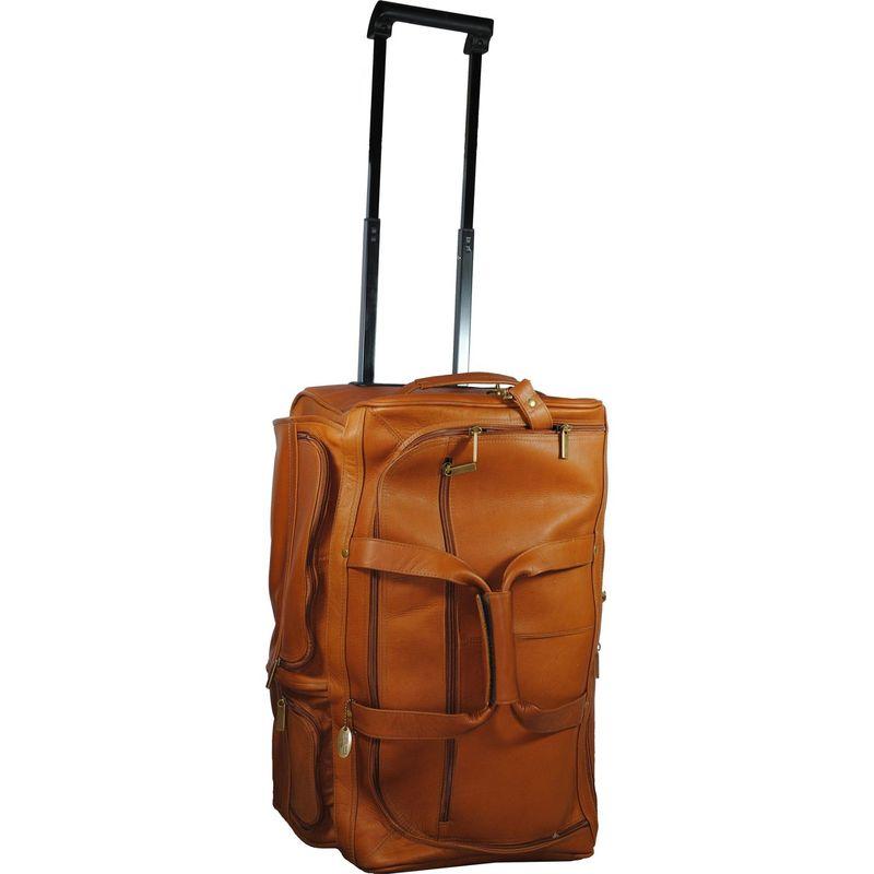 デビッドキング メンズ スーツケース バッグ 20 Rolling Duffle Tan