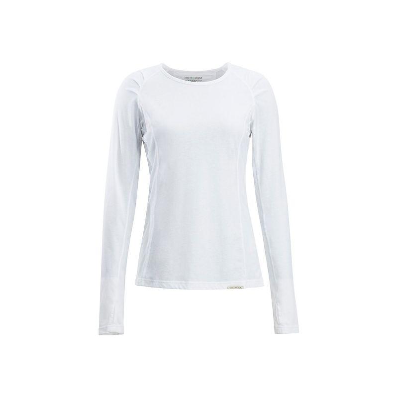 エクスオフィシオ レディース シャツ トップス Womens BugsAway Lumen Long Sleeve Shirt XS - White