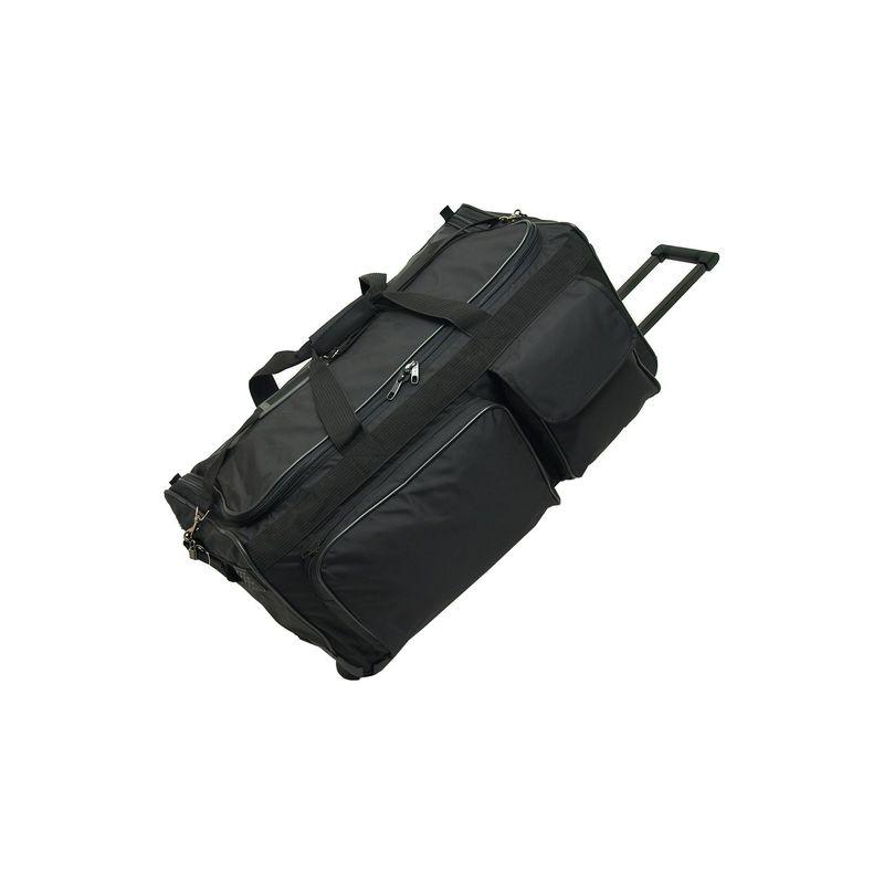 ネットパック メンズ スーツケース バッグ 30 Wheeled Duffel Black