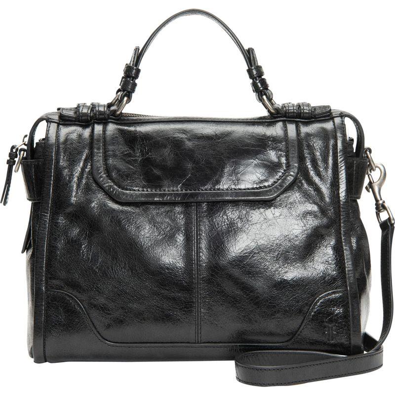 送料無料 サイズ交換無料 フライ メンズ バッグ ハンドバッグ Black フライ メンズ ハンドバッグ バッグ Mel Satchel Black