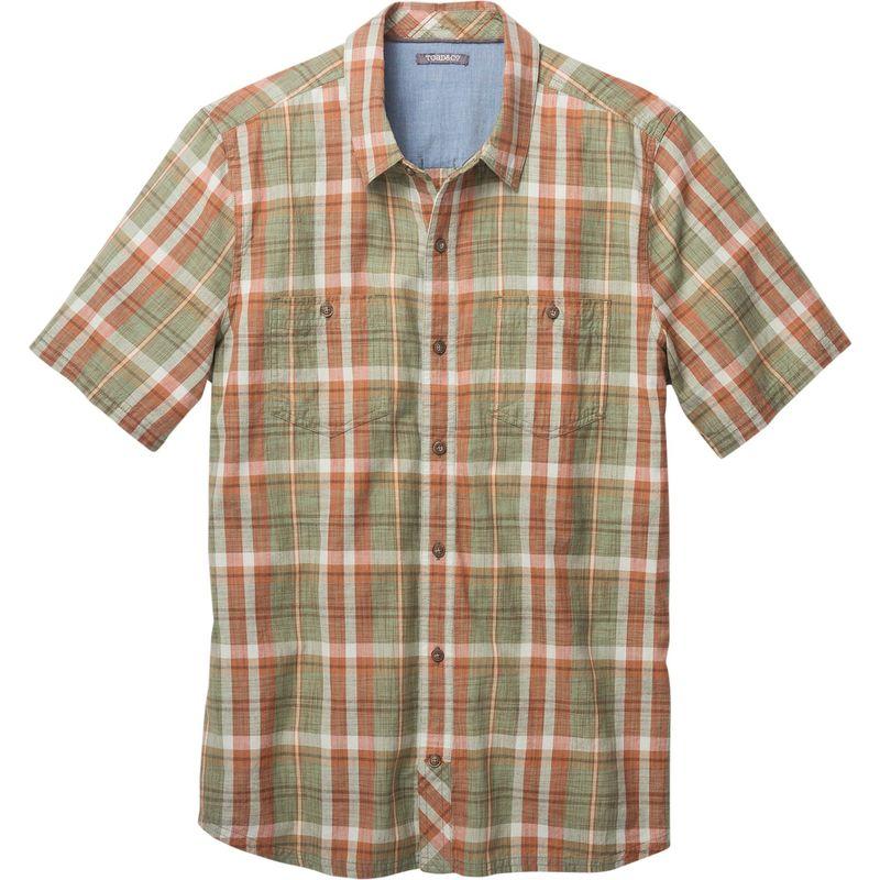 トードアンドコー メンズ シャツ トップス Smythy Short Sleeve Shirt S - Borealis