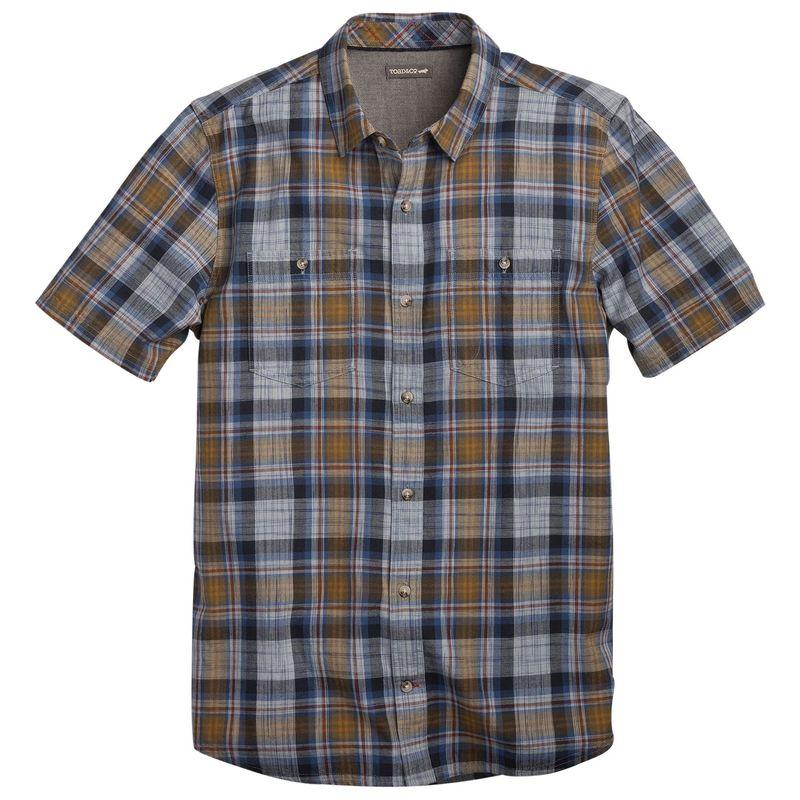 トードアンドコー メンズ シャツ トップス Smythy Short Sleeve Shirt S - True Blue