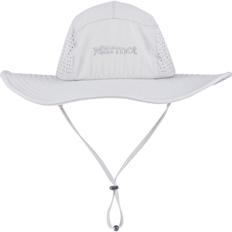 送料無料 サイズ交換無料 マーモット メンズ アクセサリー 帽子 M/L - Grey Storm マーモット メンズ 帽子 アクセサリー Breeze Hat M/L - Grey Storm