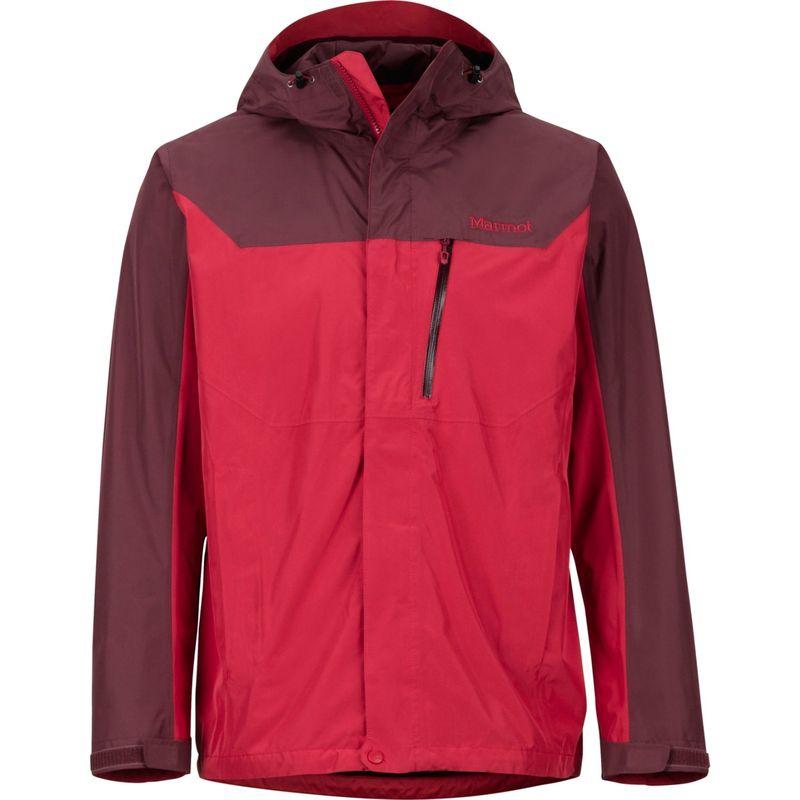 マーモット メンズ ジャケット・ブルゾン アウター Mens Southridge Jacket XXL - Sienna Red/Burgundy
