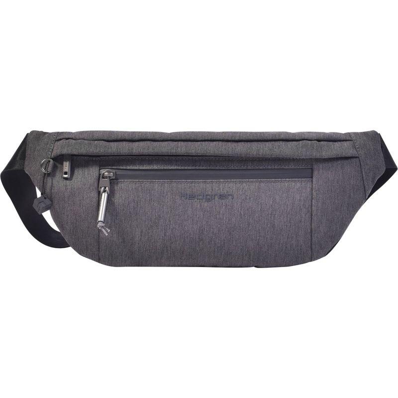 ヘドグレン メンズ ボディバッグ・ウエストポーチ バッグ Atoll Wasitbag Dark Iron