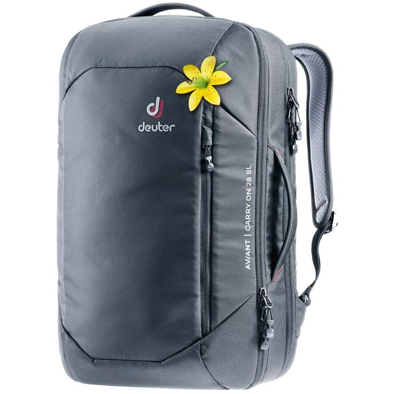 ドイター レディース バックパック・リュックサック バッグ Womens Aviant Carry On 28 SL Travel Bag Black