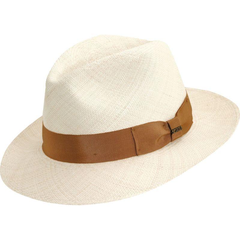 送料無料 サイズ交換無料 スカラハッツ メンズ アクセサリー 帽子 M - Natural スカラハッツ メンズ 帽子 アクセサリー Panama Safari Hat M - Natural