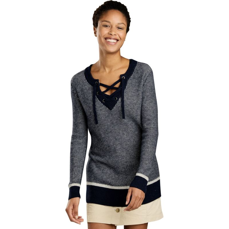 トードアンドコー レディース ニット・セーター アウター Womens Mitchell Sweater Tunic XS - Nightsky