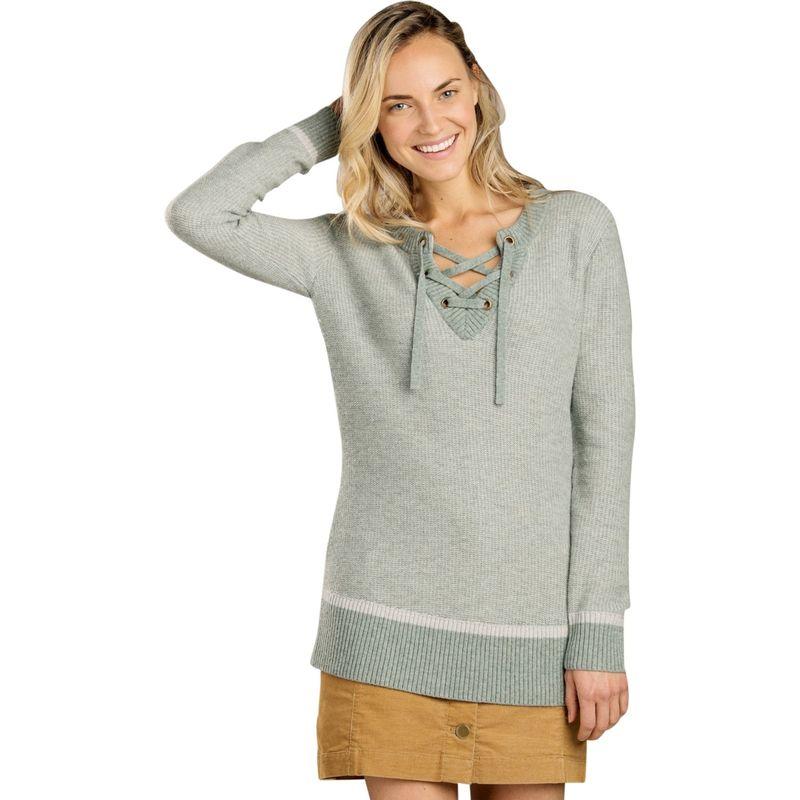 トードアンドコー レディース ニット・セーター アウター Womens Mitchell Sweater Tunic XS - Seaspray