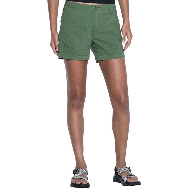 トードアンドコー レディース カジュアルパンツ ボトムス Summitline Hiking Short 10 - 5in - Kale