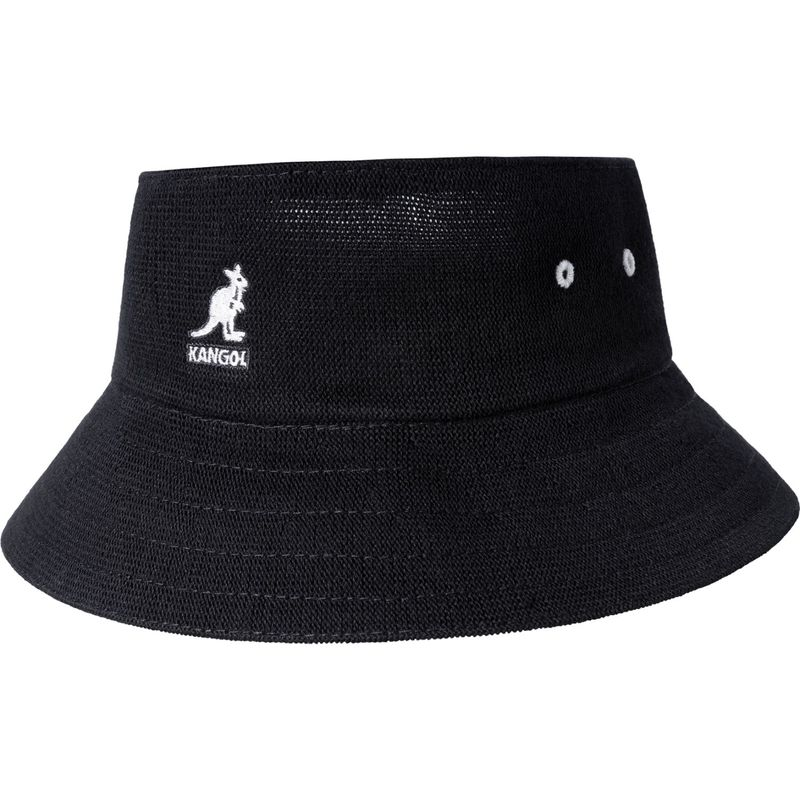 送料無料 サイズ交換無料 カンゴール メンズ アクセサリー 帽子 XL - Black カンゴール メンズ 帽子 アクセサリー Bamboo Cut Off Bucket Hat XL - Black