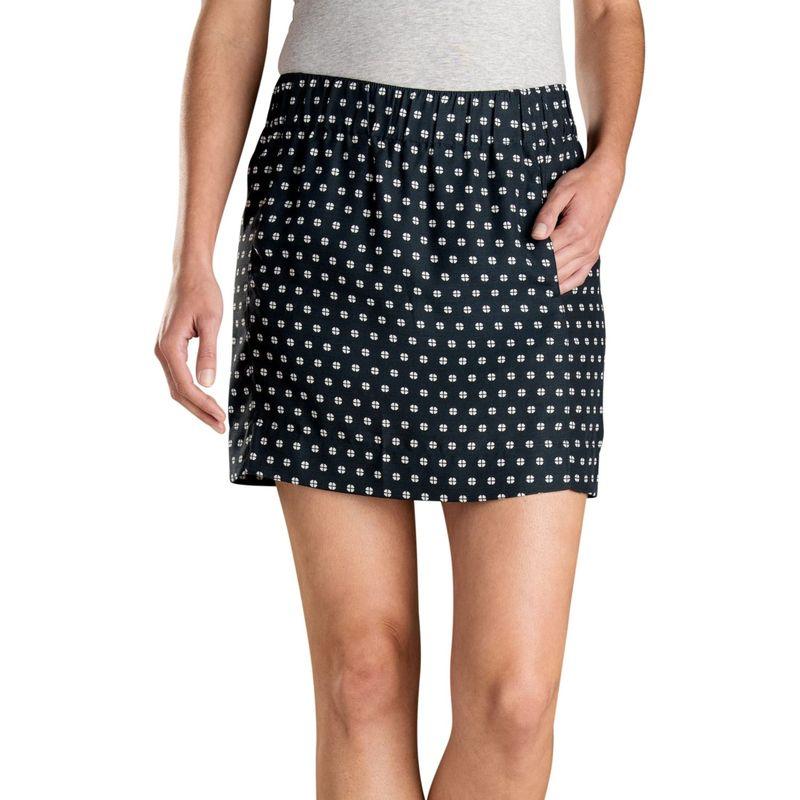 トードアンドコー レディース スカート ボトムス Womens Hillrose Skirt M - Black Mod Dot Print