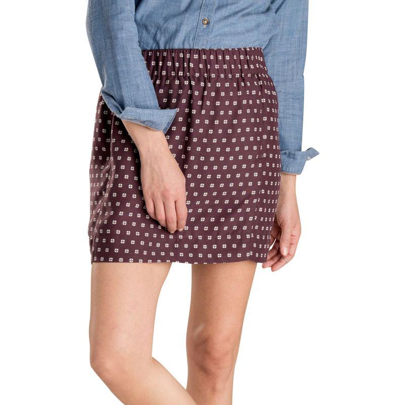 トードアンドコー レディース スカート ボトムス Womens Hillrose Skirt XS - Huckleberry Mod Dot Print