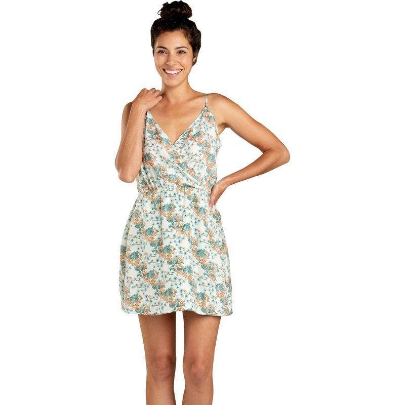 トードアンドコー レディース ワンピース トップス Womens Hillrose Sleeveless Dress XS - Seafoam Green Resort Print