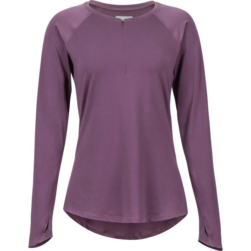 マーモット レディース シャツ トップス Womens Nevis Long Sleeve S - Vintage Violet